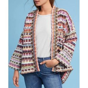 Kimono sweater via anthropologie